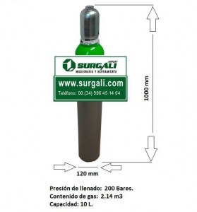 botella gas argon 2